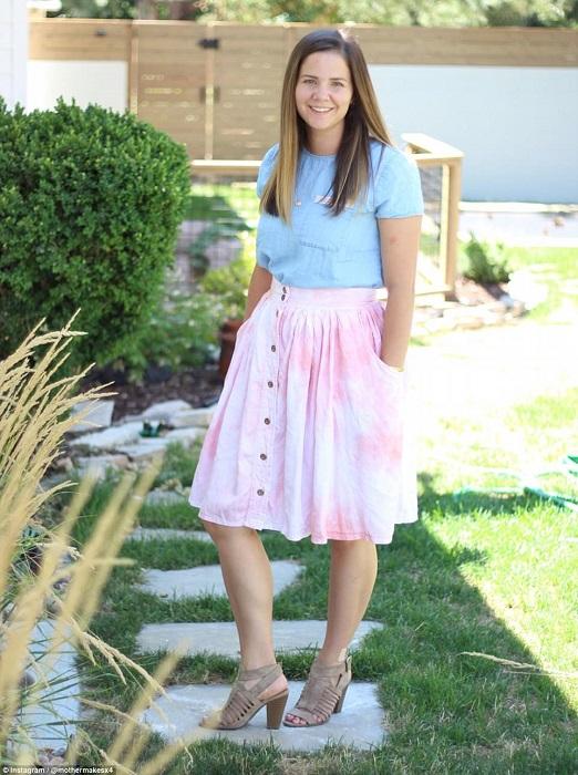 Также Стефани Миллер начала шить одежду и для себя