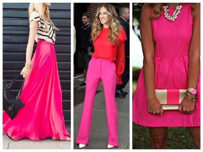 Розовый цвет очень модный этим летом