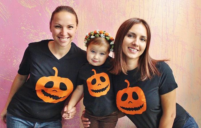 Забавные футболки - самый простой способ создать family look
