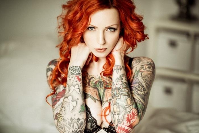 Леди никогда не сделает себе татуировку
