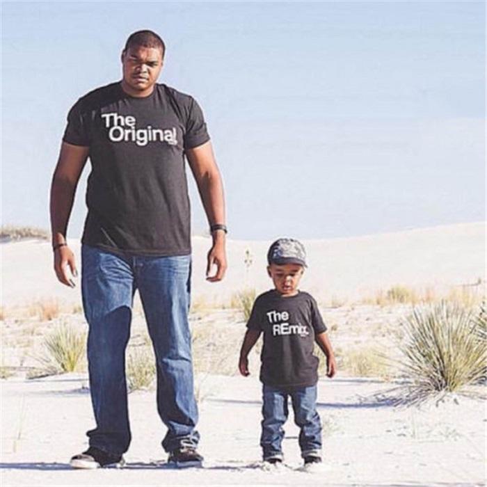 Family look для папы и сына