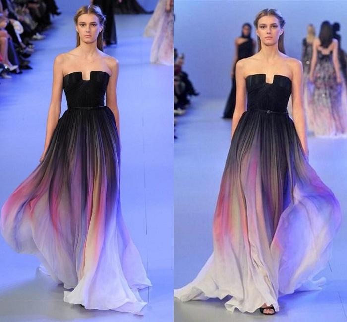 Платья Эли Сааб очень красивые