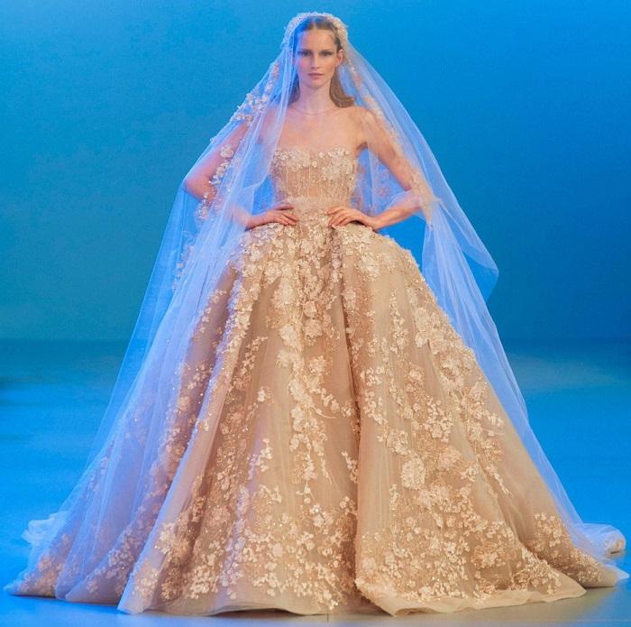 Свадебное платье Эли Сааб
