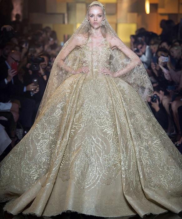 Свадебное платье от Эли Сааб - мечта невесты