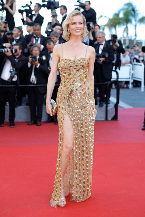 Ева Герцигова в изумительном платье