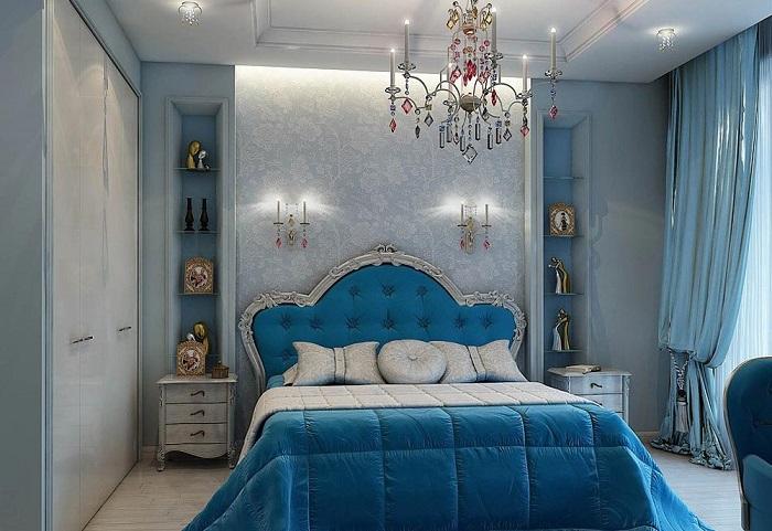 Спальня в стиле «королевский шик»