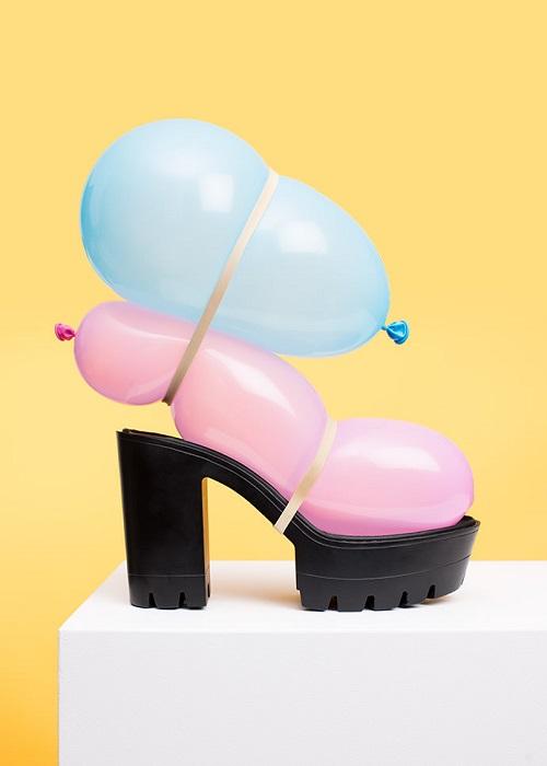 Туфли-воздушный шарик от PUTPUT
