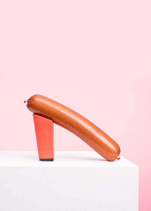 Туфли для любителей фаст-фуда от PUTPUT