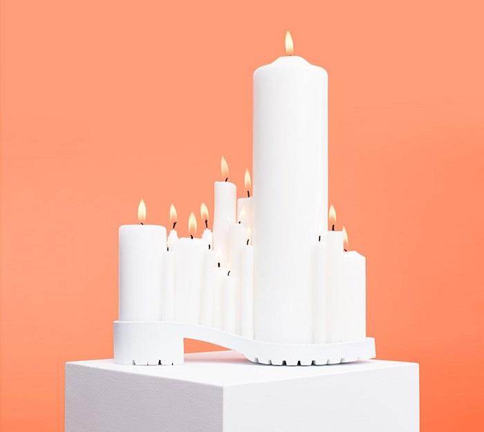 Туфли-свечи от PUTPUT