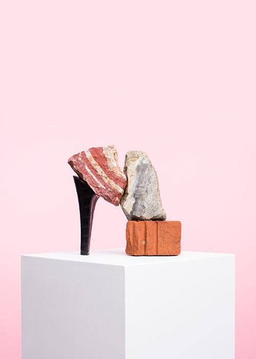 Туфли-камни от PUTPUT