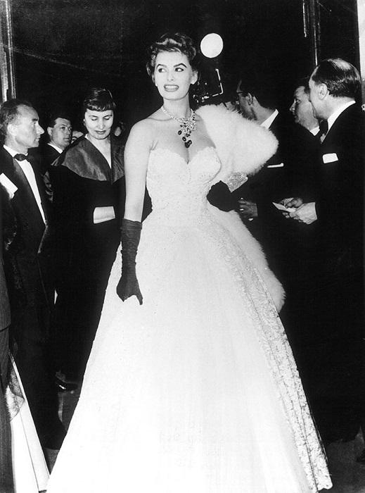 Софи Лорен 1955 год
