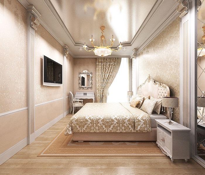 Спальня для современной королевы