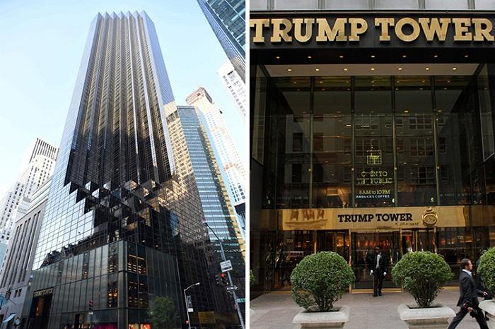 Дональд Трам показал свои апартаменты в Нью-Йорке
