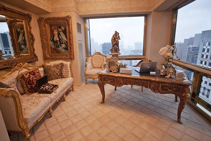 Интерьер пентхауса сравнивают <em>семьи</em> с Версальским дворцом