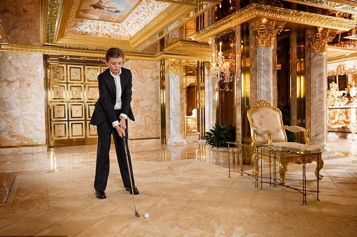 В пентхаусе можно играть в гольф