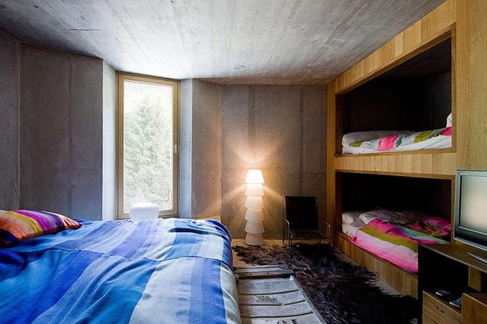 Спальня для семьи с детьми в отеле