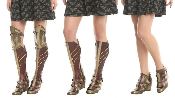 Wonder Woman Boot - это универсальная пара обуви
