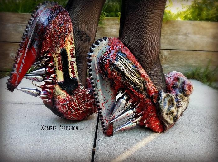 Обувь Zombie Pipshow можно заказать по собственному дизайну
