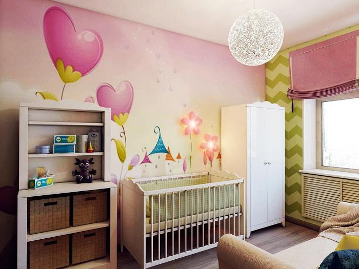 Детская комната для настоящей принцессы