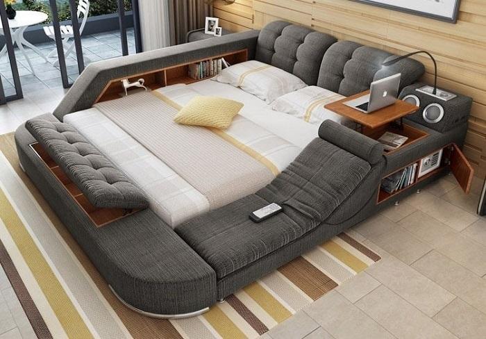 На азиатских рынках в продаже появилась необычная многофункциональная модульная чудо-кровать