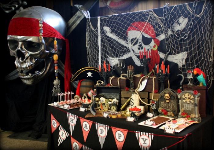 День рождения в стиле «Пираты»