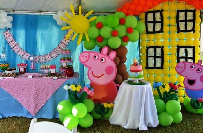 День рождения в стиле «Свинка Пеппа»