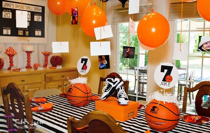 День рождения в стиле «Баскетбол»