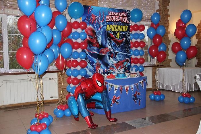 День рождения в стиле «Человек-паук»