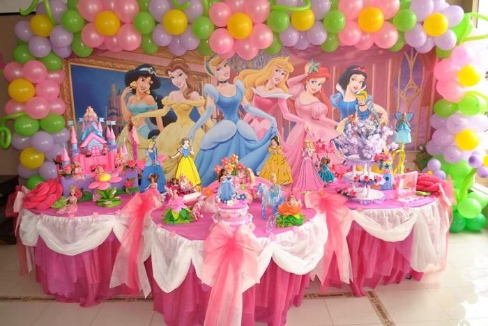 День рождения в стиле «Диснеевские принцессы»