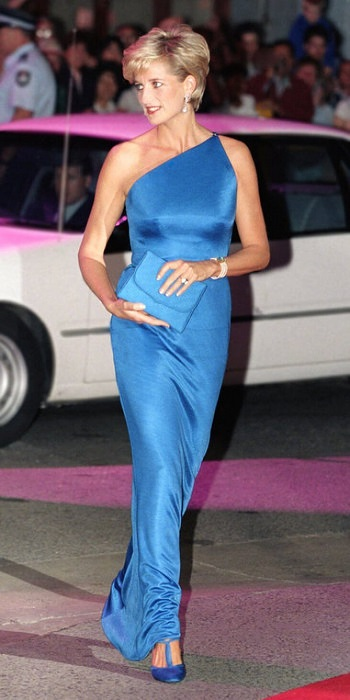 Принцесса Диана 1996 год