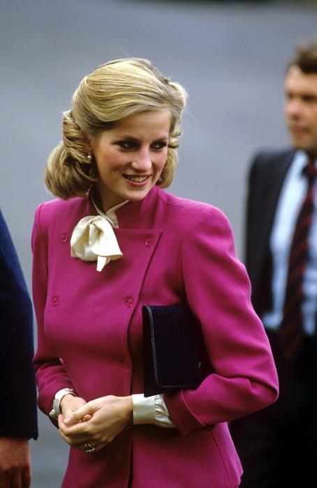Принцесса Диана, 1984 год