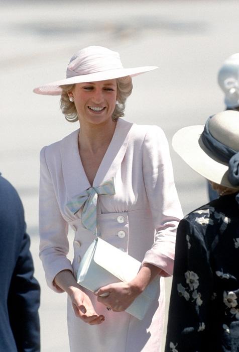 Принцесса Диана 1986 год