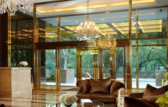 Апартаменты располагаются в элитном комплексе Trump Place