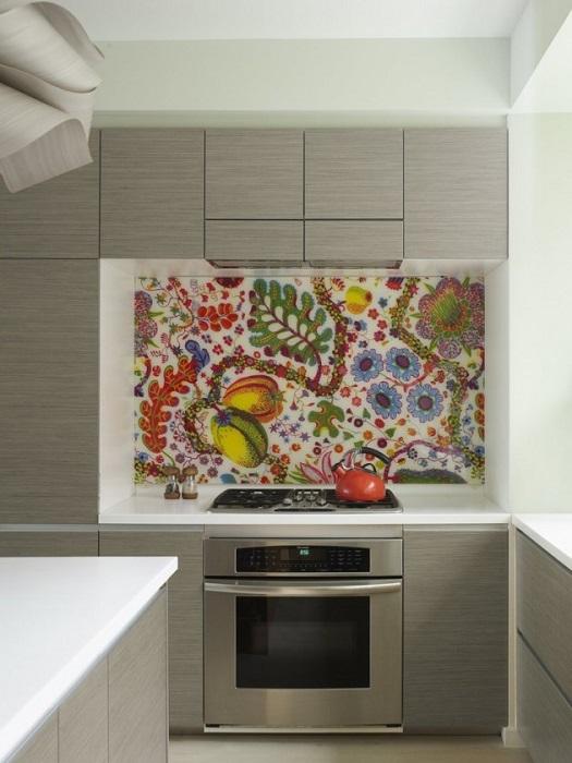 С помощью мозаики можно создавать целые картины