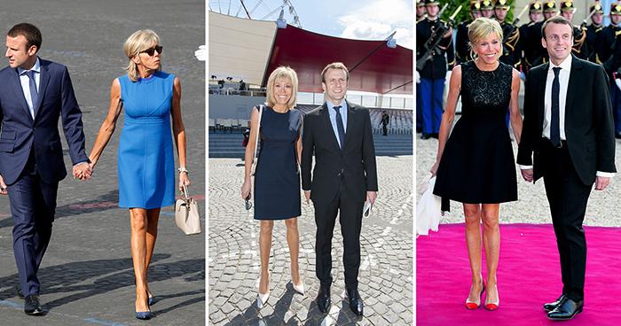 Элегантные платья очень идут Бриджит Тронье