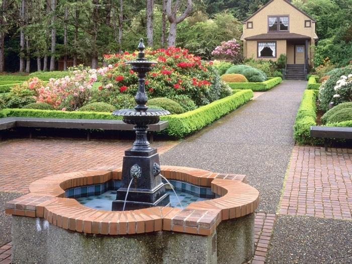 Фильтр для насоса будет очищать воду фонтана