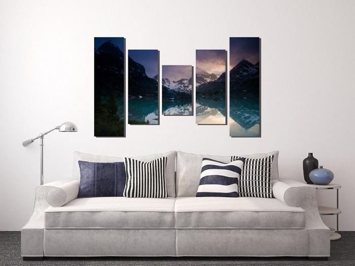 Фото-пазл - очень оригинальная идея для декора стен