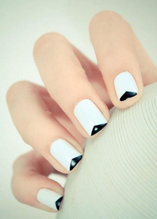 Черно-белый френч