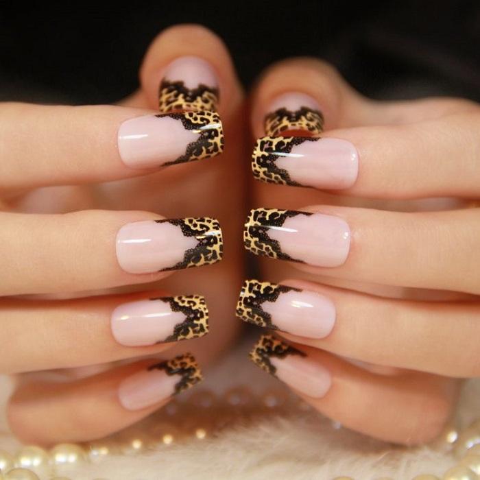Леопардовый френч