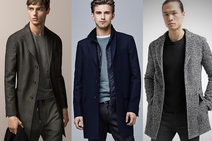 Пальто на мужчине смотрится восхитительно