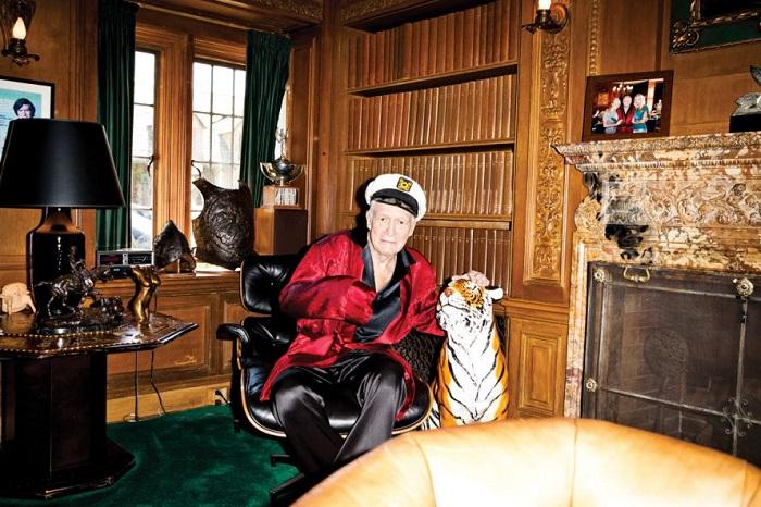 Хью Хефнер очень любил животных