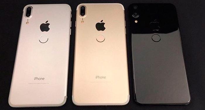 Модели iPhone 8 будут доступны в трех цветах – «silver», «space gray» и «gold»