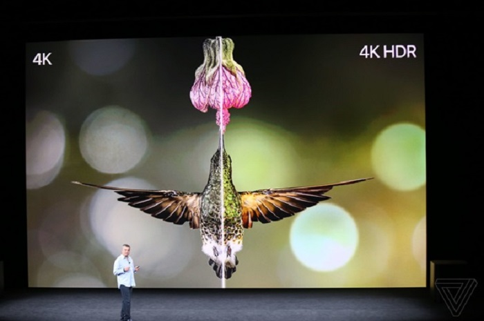 iPhone 8 может записывать видео в формате 4К при 60 кадрах в секунду