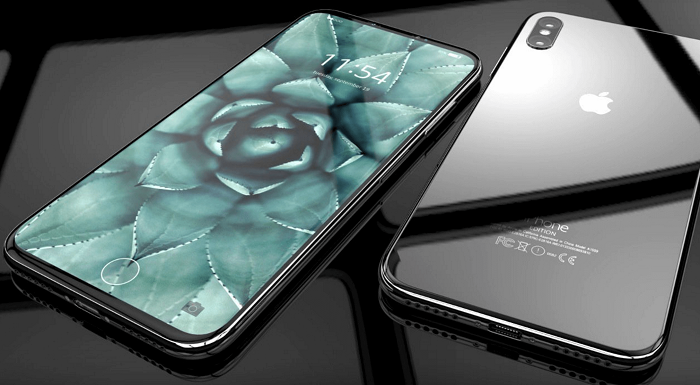 Диагональ экрана iPhone X − 5,8 дюйма с разрешением 2436х1125 точек и технологией True tone