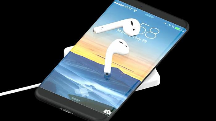 iPhone 8 имеет кабель-адаптер для подключения обычных наушников lightning