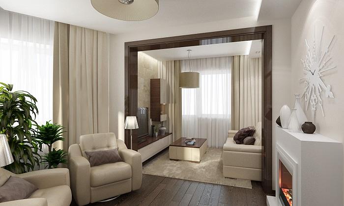 Комната без дверных проемов становится больше