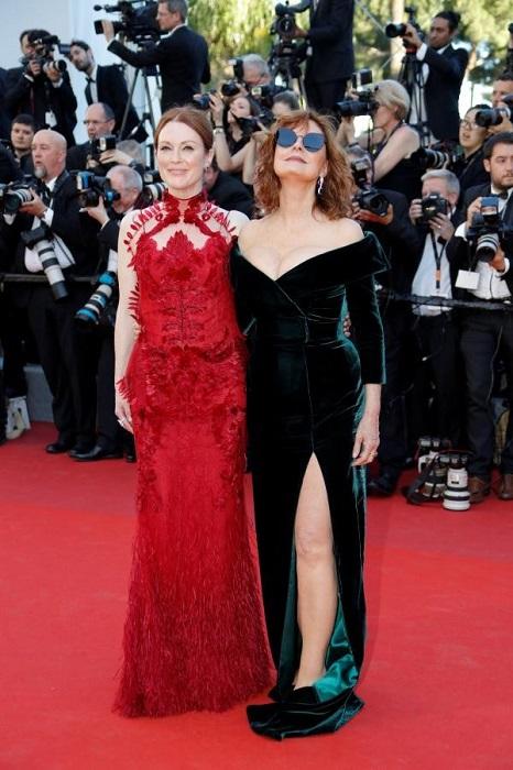 Джулианна Мур и Сьюзен Сарандон выглядят просто восхитительно