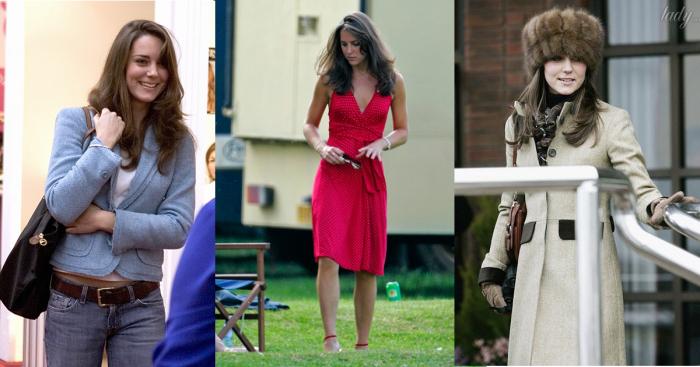 Как выглядела Кейт Миддлтон до того, как стала герцогиней