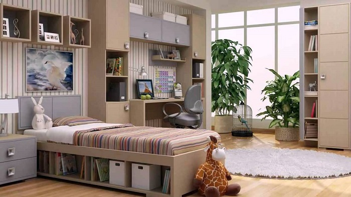 24 оригинальные идеи оформления комнаты для школьника