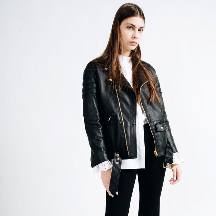 Кожаные куртки всегда в моде